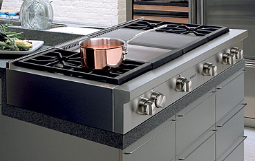 Wolf sealed burner rangetops
